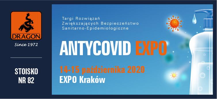 14-15 października 2020 - Targi AntyCovid EXPO w Krakowie